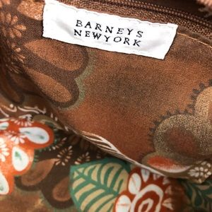 Barneys New York Bags - Barneys New York Straw Purse With Wooden Handles